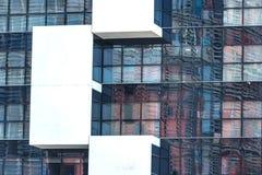 Odbicia Agbar wierza w Barcelona Zdjęcia Royalty Free