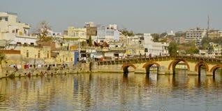 Odbicia na Udaipur Obrazy Royalty Free