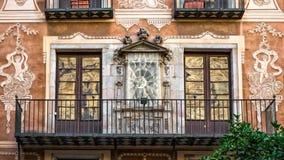 Odbicia w Barcelona Zdjęcie Stock