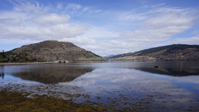 Odbicia w Loch Obrazy Stock