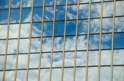Odbicia w okno Zdjęcie Stock