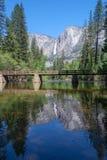 odbicia Yosemite Zdjęcia Royalty Free