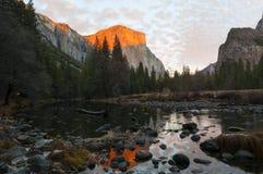 Odbicia - Yosemite Obraz Stock
