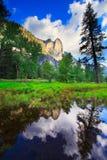 odbicia Yosemite Obraz Royalty Free