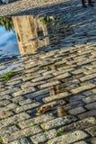 Odbicia Złoty wierza w Seville Zdjęcia Royalty Free