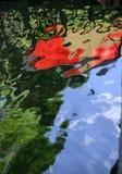odbicie abstrakcyjna wody Zdjęcie Stock