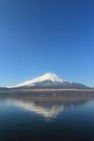 Odbicie góra Fuji, Japonia Obraz Stock