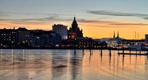 Odbicie Helsinki zdjęcie royalty free