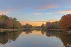 Odbicie jesieni colours Obraz Stock