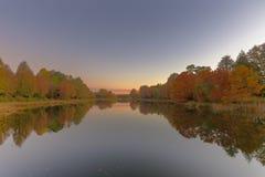 Odbicie jesieni colours Zdjęcie Royalty Free