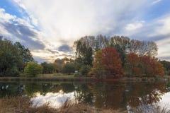 Odbicie jesieni colours Obrazy Stock