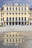 Odbicie, Schonbrunn, Wiedeń Zdjęcia Royalty Free