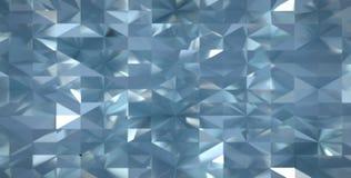 Odbijający pluskoczący geometryczny nawierzchniowy rendering ilustracja wektor