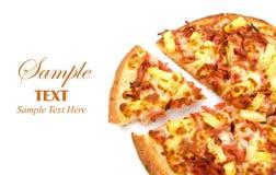 odbitkowa hawajczyka pizzy przestrzeń Obrazy Royalty Free