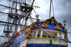 Stary żeglowanie statek Fotografia Royalty Free