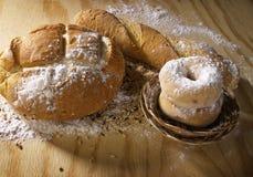 odciąć chlebów zarządu Zdjęcie Stock