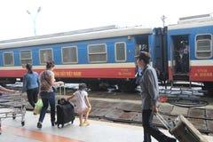 ODCIEŃ stacja kolejowa Fotografia Stock