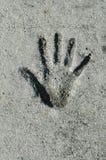 odcisk dłoni Zdjęcia Stock