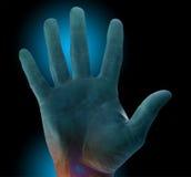 odcisk palca raźna ochrony Zdjęcia Stock