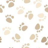odcisk stopy bezszwowy deseniowy Zdjęcia Stock