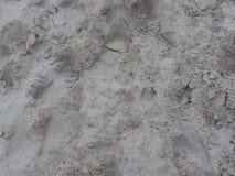 Odciski stopy w Holenderskim piasku zdjęcia royalty free