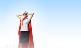 Odczucie yourself bohater! Zdjęcie Stock