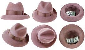 Odczuwany kapelusz zdjęcie royalty free