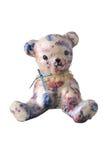 Odd bear figurine Royalty Free Stock Images