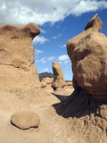 Odd Hoodoos Royalty Free Stock Photos