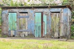 Odd house. In Tortuguero in Costa Rica Central America Royalty Free Stock Photo