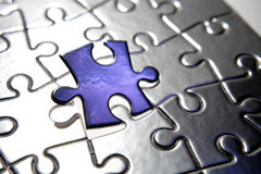 Odd jigsaw piece Royalty Free Stock Photography