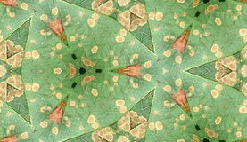 Odd Leaf Pattern Texture 4. A seamless texture pattern background of an infected leaf Royalty Free Stock Photography