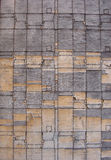 Odd pattern on a worn piece of timber wood Royalty Free Stock Photography