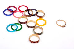 Odd Ring Out Royalty Free Stock Photos