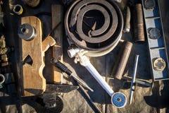 Odd Tools et ordure Image libre de droits