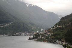 Odda, Norway Stock Images