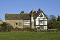 Odda`s Chapel & Abbot`s Court Stock Image