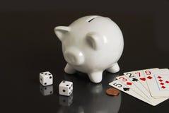 oddaleni wykładowcy hazardu oszczędzania t twój Fotografia Royalty Free