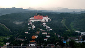 Oddalone świątynie w ChengDe Fotografia Stock