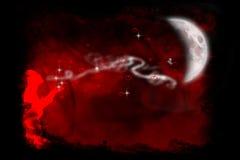 oddech miłości Obrazy Royalty Free