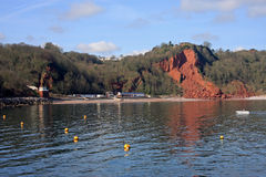 Oddicombe beach, Torquay Royalty Free Stock Images