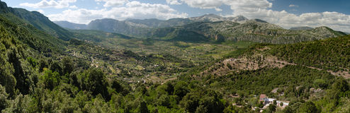 Oddoene valley, Sardinia, Italy Stock Photos