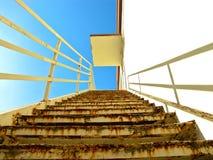 Oddolny schody fotografia royalty free