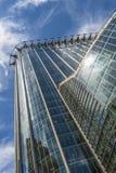 Oddolny widok CityPoint drapacz chmur, Londyn UK zdjęcia stock