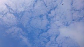 Oddolny widok niebo zdjęcia royalty free