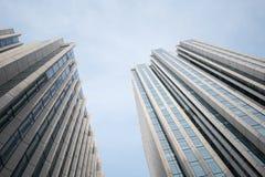 Oddolny widok nowożytny budynek fotografia stock