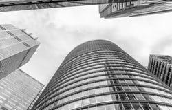 Oddolny widok Sydney CBD drapacz chmur fotografia royalty free