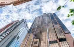 Oddolny widok Sydney CBD drapacz chmur obrazy royalty free