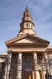 Oddolny widoku St Philip Charleston Basztowy SC zdjęcia stock