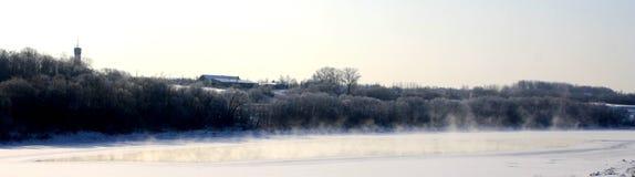oddychanie rzeka Fotografia Royalty Free